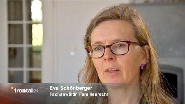 <b>Eva Schönberger</b> (vormals Dr. Rusch) – Fachanwältin für Familienrecht - frontal21